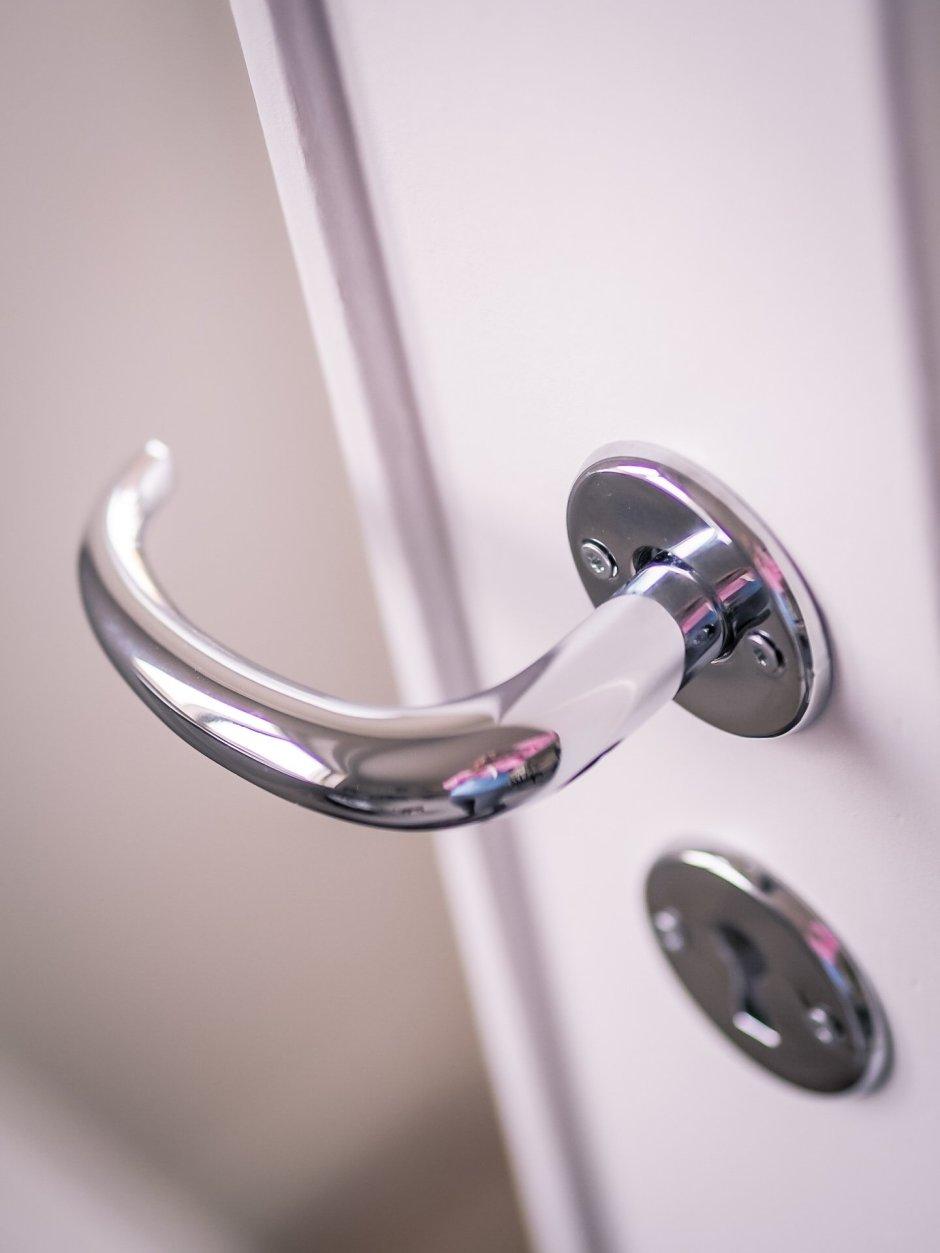 Kromattu ovenkahva vanha