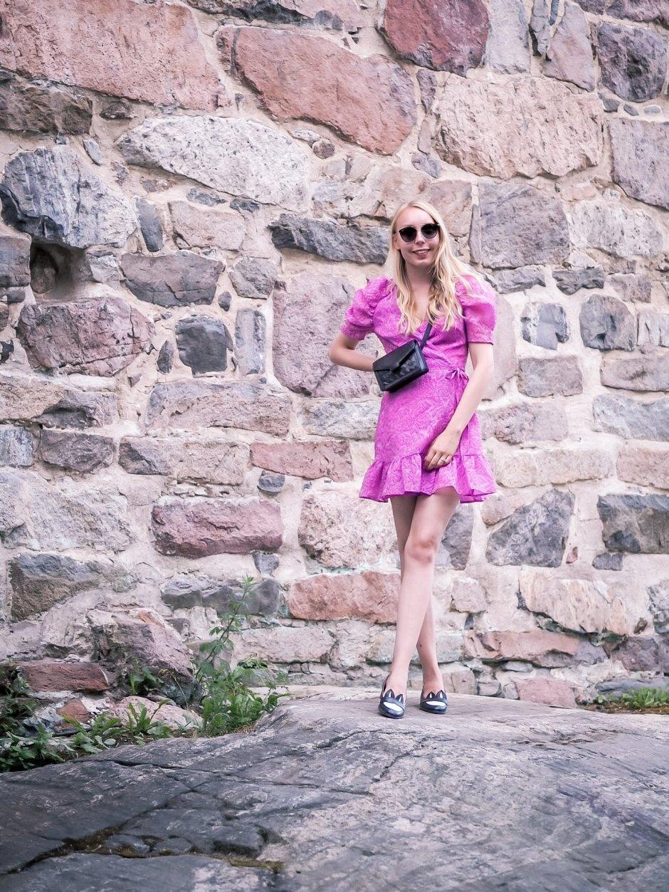 Pinkki mekko kesä
